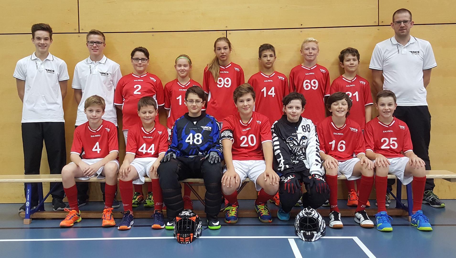 Teamfoto Junioren C 2017/18