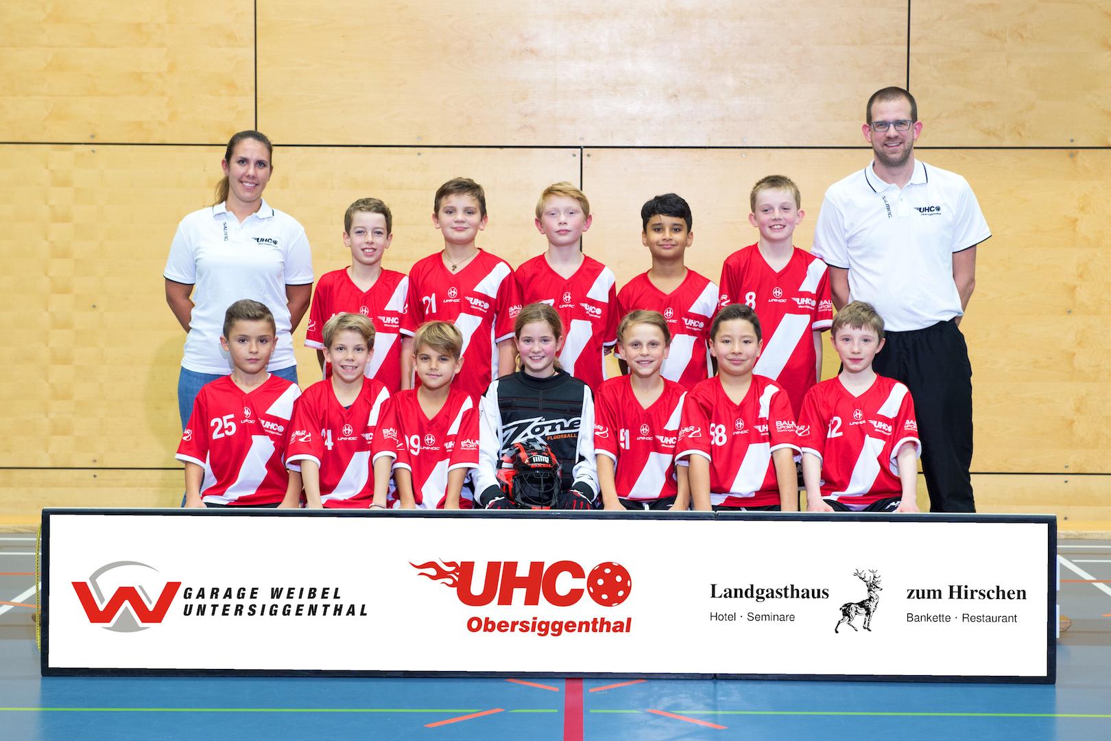 Teamfoto Junioren D2 2017/18