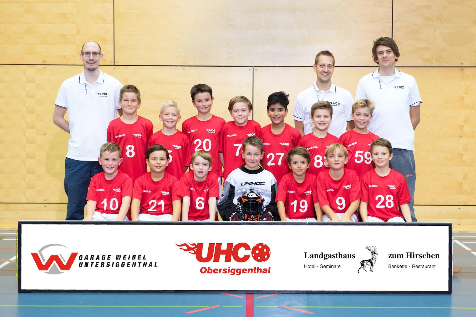 Teamfoto Junioren E 2017/18