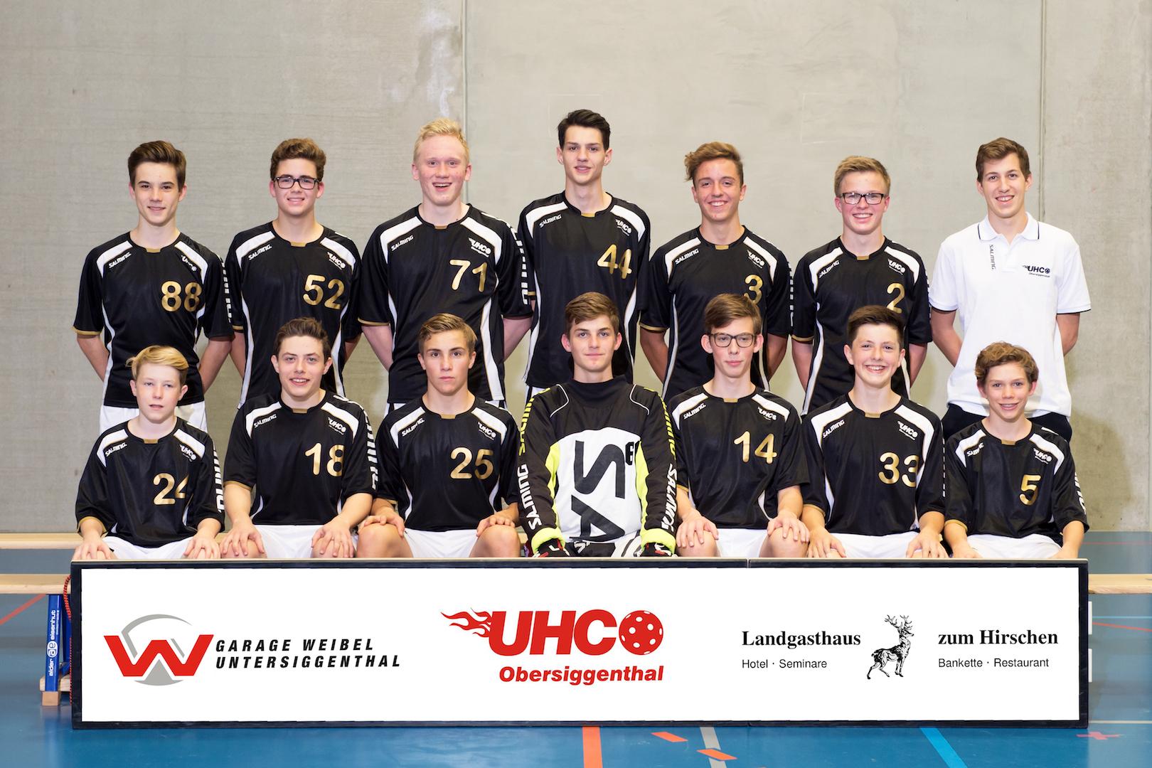 Teamfoto Junioren U18 2017/18