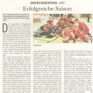 Rundschau Mai 2010